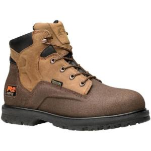 Timberland Pro Mens 6 in. PowerWelt Waterproof Steel Toe Boots