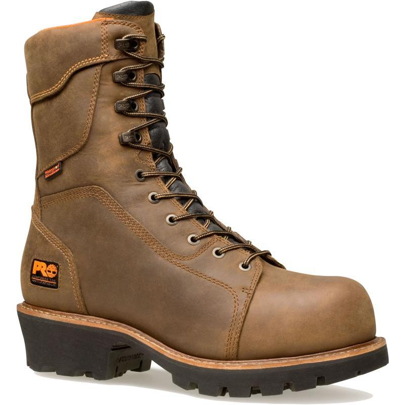 Timberland Pro 9 in.Rip Saw WP Insulated Composite Toe Lo...
