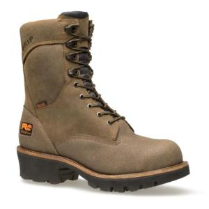 Timberland Pro 9 in. Industrial Outdoor Rip Saw Waterproof Steel Toe Logger
