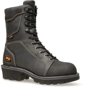 Timberland Pro 9 in. Rip Saw Waterproof Soft Toe Logger