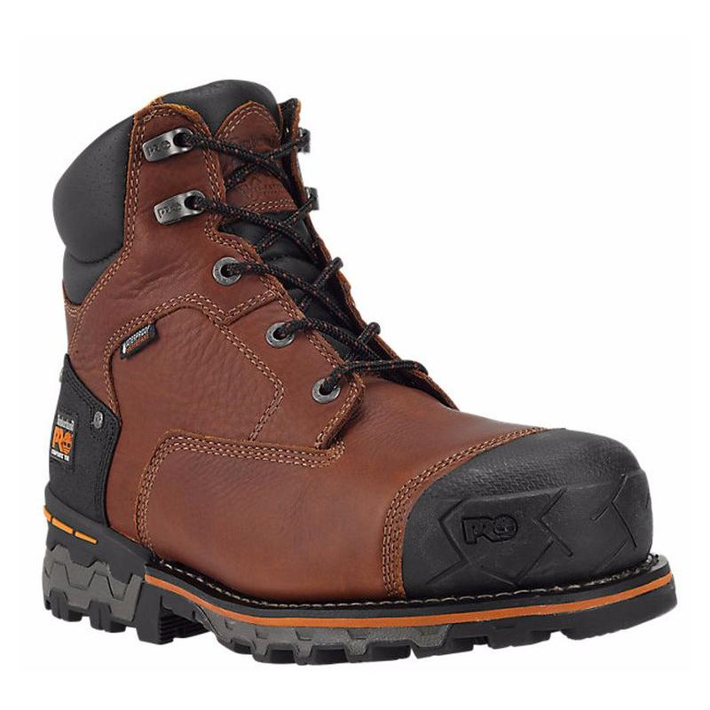 Timberland Mens Pro Boondocks 6in. Composite toe Work Boots