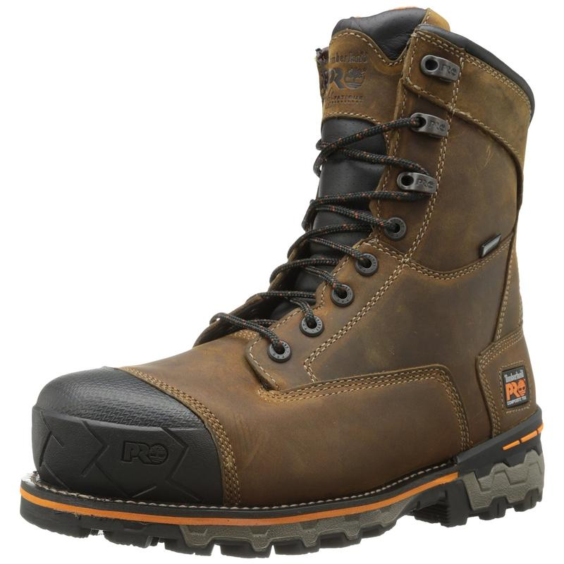 Timberland Mens Boondock 8in Comp Toe Work Boots 92671