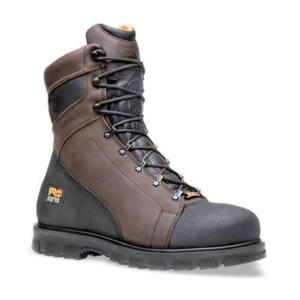 Timberland Men's Pro  8 Inch Waterproof Steel Toe Work Boot