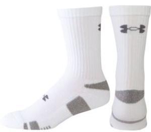 Under Armour® HeatGear® Trainer Crew Socks (3-pack)