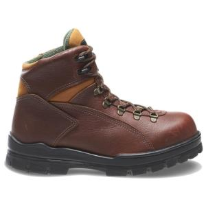 Wolverine Men's 6 in. DuraShocks Steel-Toe Waterproof Work Boot