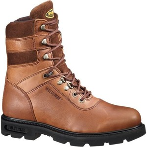 Wolverine Men's 8 in. Slip-Resistant EH Work Boot