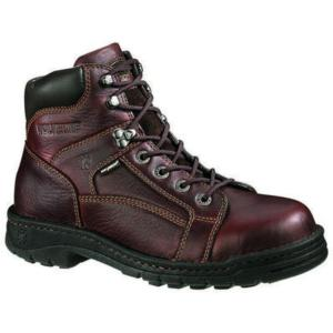Wolverine Men's 6 in. Exert Soft Toe Exert Wolverine DuraShocks® Lace To Toe Opanka Boot