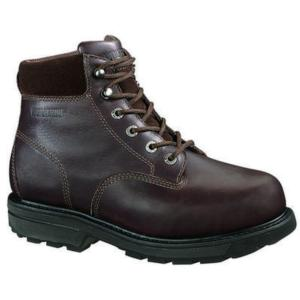 Wolverine Men's 6 in. Steel-Toe EH Internal Metatarsal Guard  Work Boot