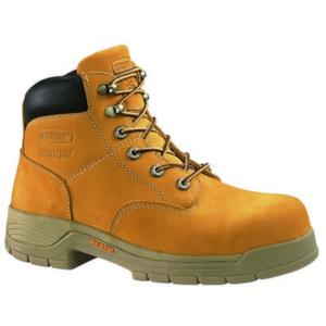 Wolverine Men's 6 in. Harrison Waterproof Slip Resistant Steel Toe EH Lace-Up Boot