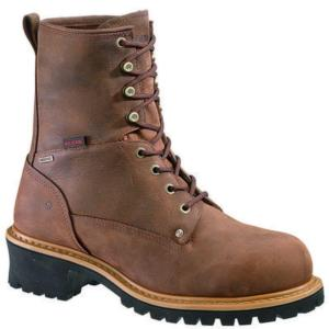 Wolverine Snyder Men's 8 in. Insulated Waterproof Steel Toe EH Logger Boot