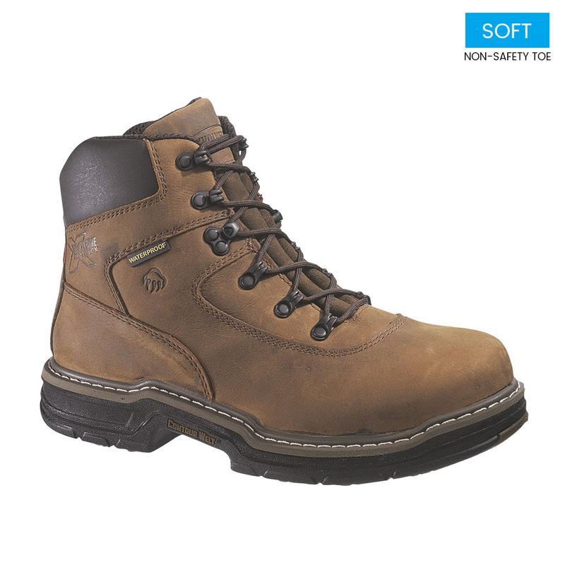52fd74e577a Wolverine Men's 6 in. Waterproof Insulated Marauder Soft Toe Boot