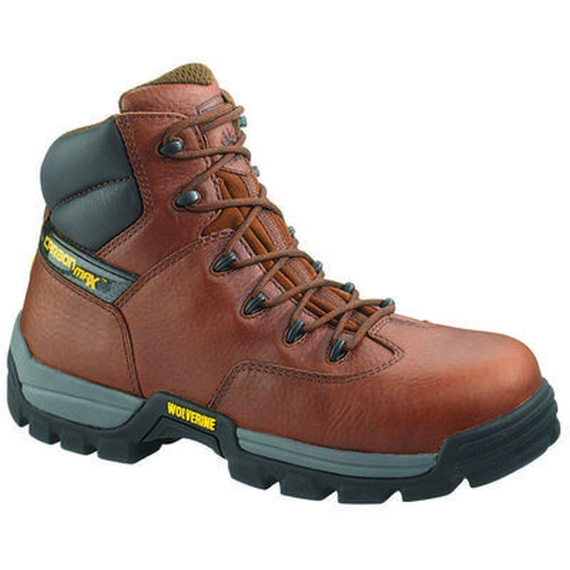 Wolverine Men's 6 in. Guardian CarbonMAX Safety Toe SR Boots