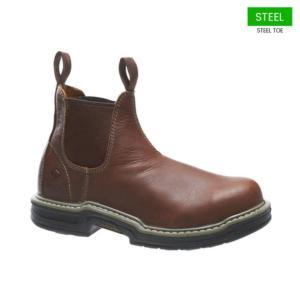 3ef5c09fa74 Wolverine Men's Raider Twin-Gore Steel Toe Romeo Boot