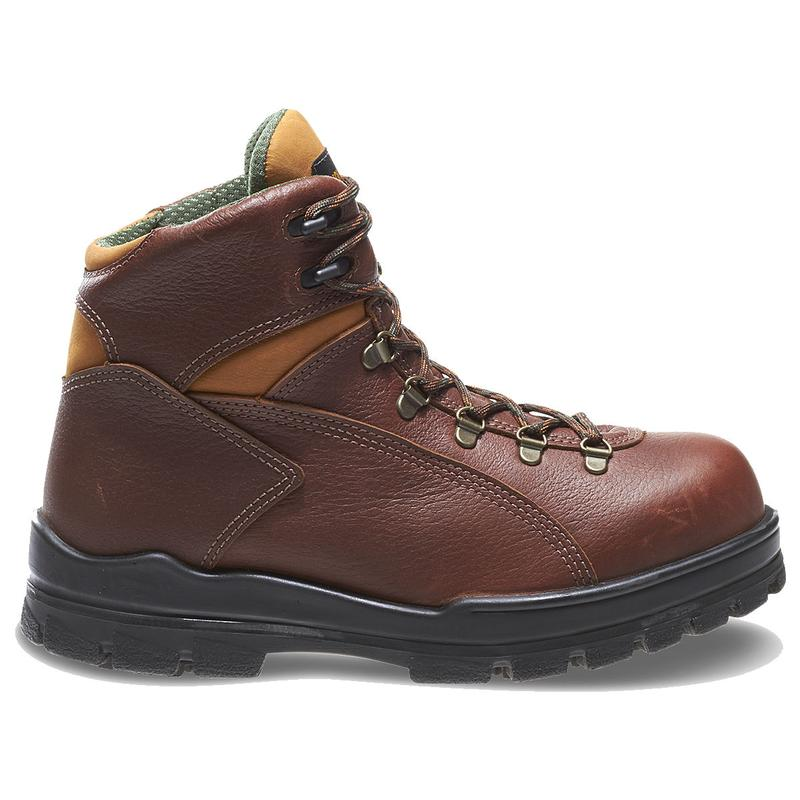 Wolverine Men's 6 in. DuraShocks Steel-Toe WP Work Boots