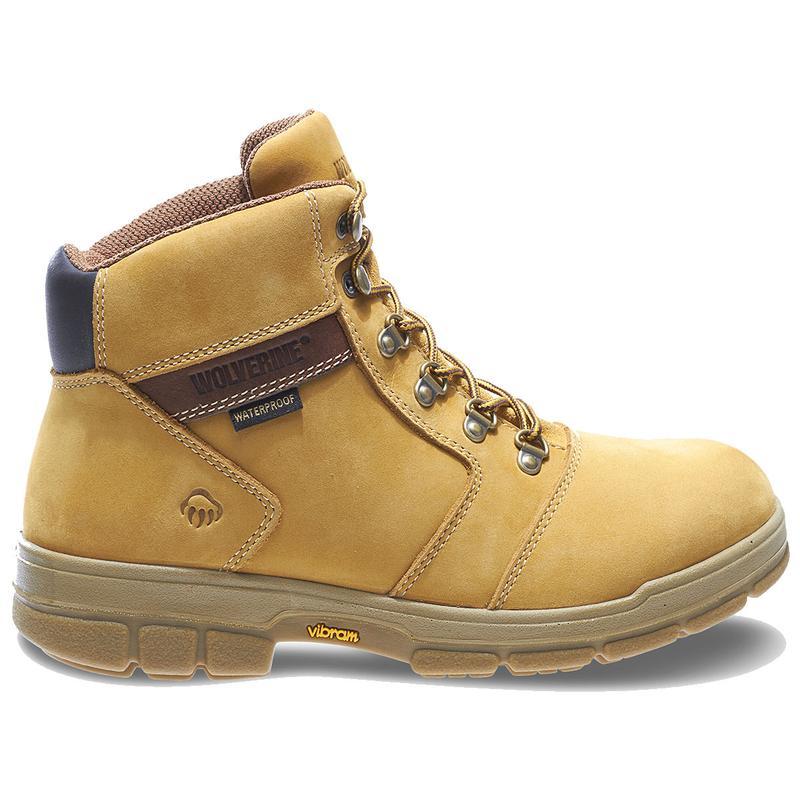 Wolverine Mens Barkley Durashocks Wp Insulated 6in Work Boot W04105