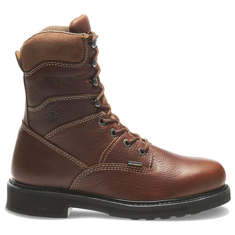 Wolverine Mens 8in Durashocks Slip Resistant Work Boots