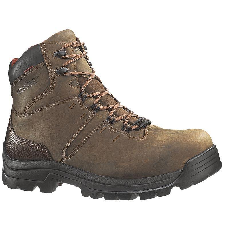 53fcad7e627 Wolverine Bonaventure 6 inch Steel Toe Waterproof Boots
