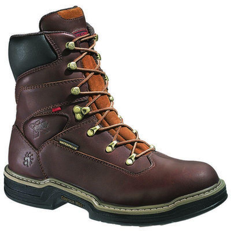 db4f7f82639 Wolverine Men's8 in.Buccaneer MultiShox Steel Toe EH WP Boot