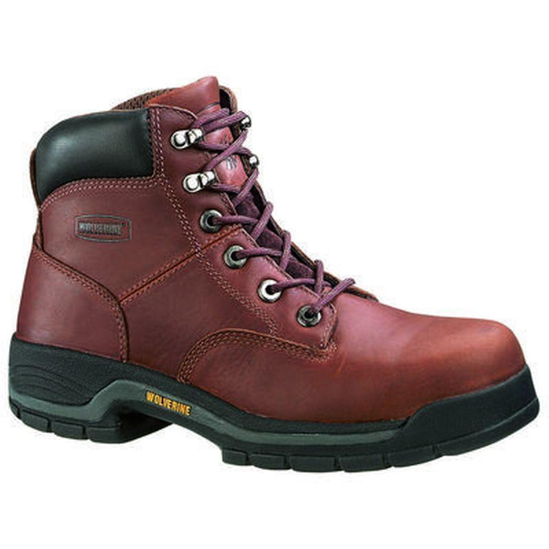 Wolverine Men's  6 in.  Steel Toe EH Work Boots