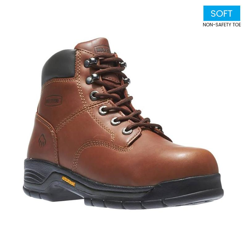 48926a37e89 Wolverine Men's 6 in. Soft Toe Work Boot