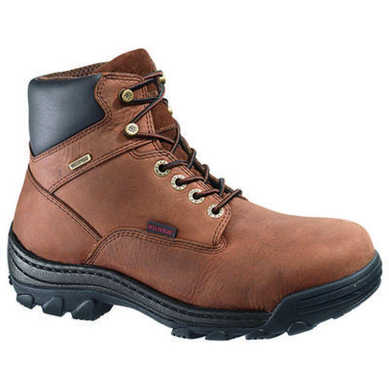 b4c60027794 Wolverine Men's 6 in. Durbin Steel Toe EH Waterproof Boots