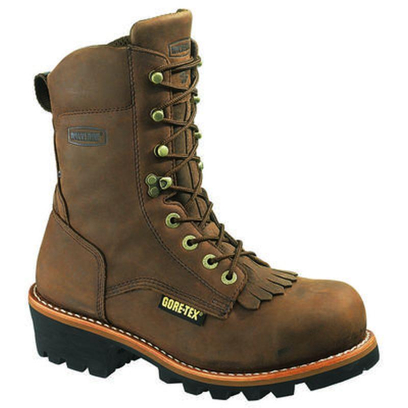 Wolverine 8 in.Insulated Gore-Tex Steel Toe EH Logger