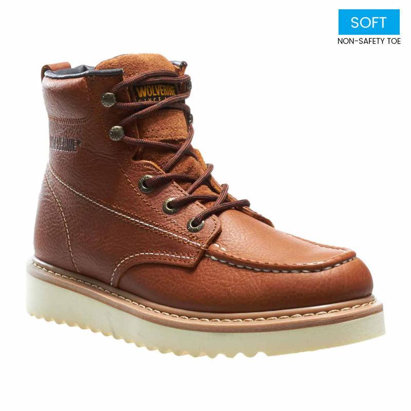 Moc Soft Toe Wedge Boot W08288