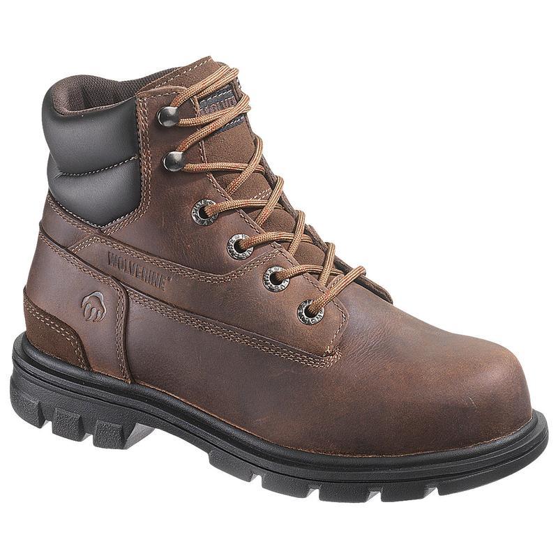 wolverine womens 6in steel toe eh work boots w10029