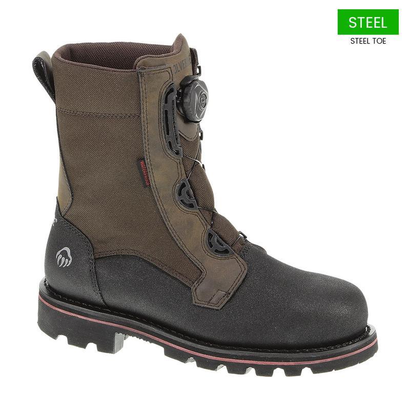 shop best sellers run shoes 2019 authentic Wolverine Men's Drillbit Waterproof Steel Toe Boots