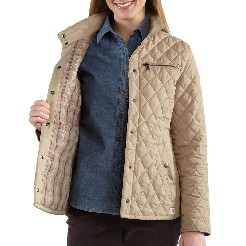 Carhartt Women S Wellington Diamond Quilted Jacket