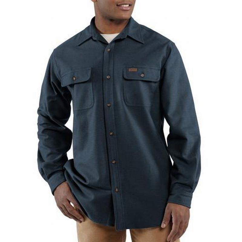 Carhartt men 39 s chamois long sleeve shirt 100080 for Carhartt men s chamois long sleeve shirt
