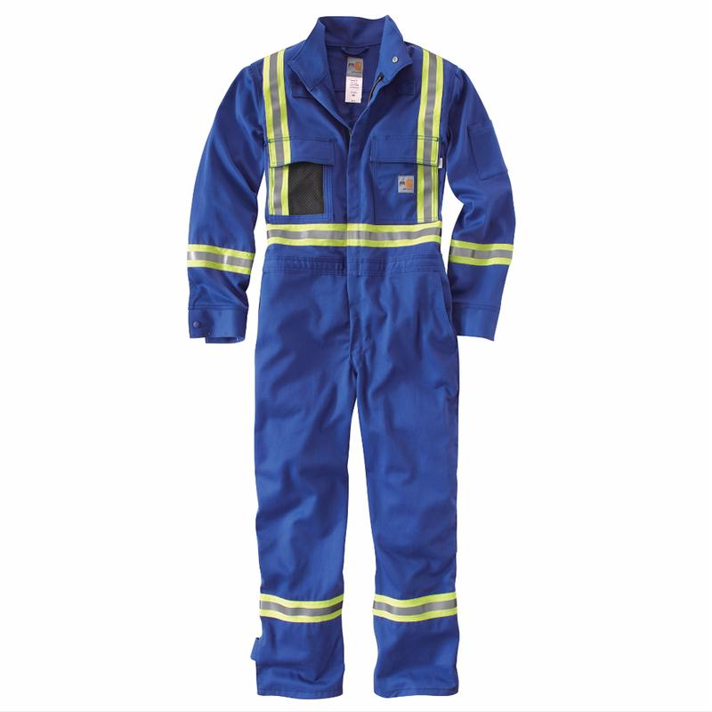 Carhartt Fr Unlined Reflective Safety Coverall Irregular