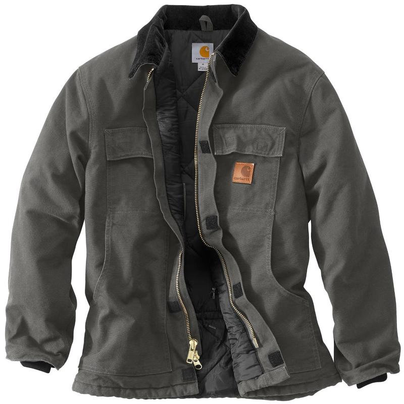 Carhartt Sandstone Duck Arctic Quilt Lined Traditional