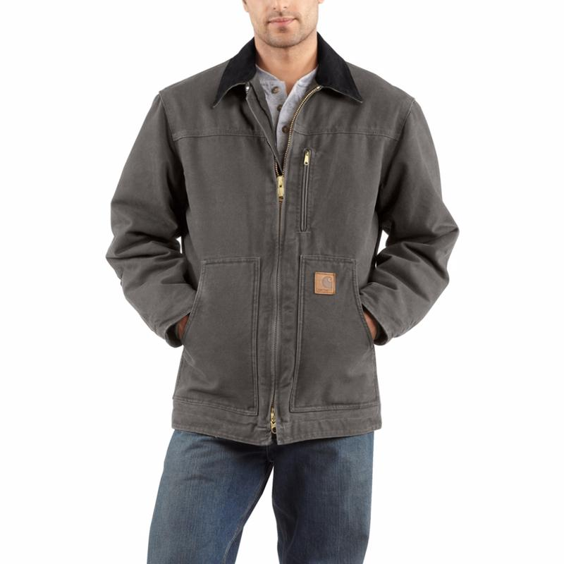 Carhartt Men S Sandstone Ridge Sherpa Lined Coat