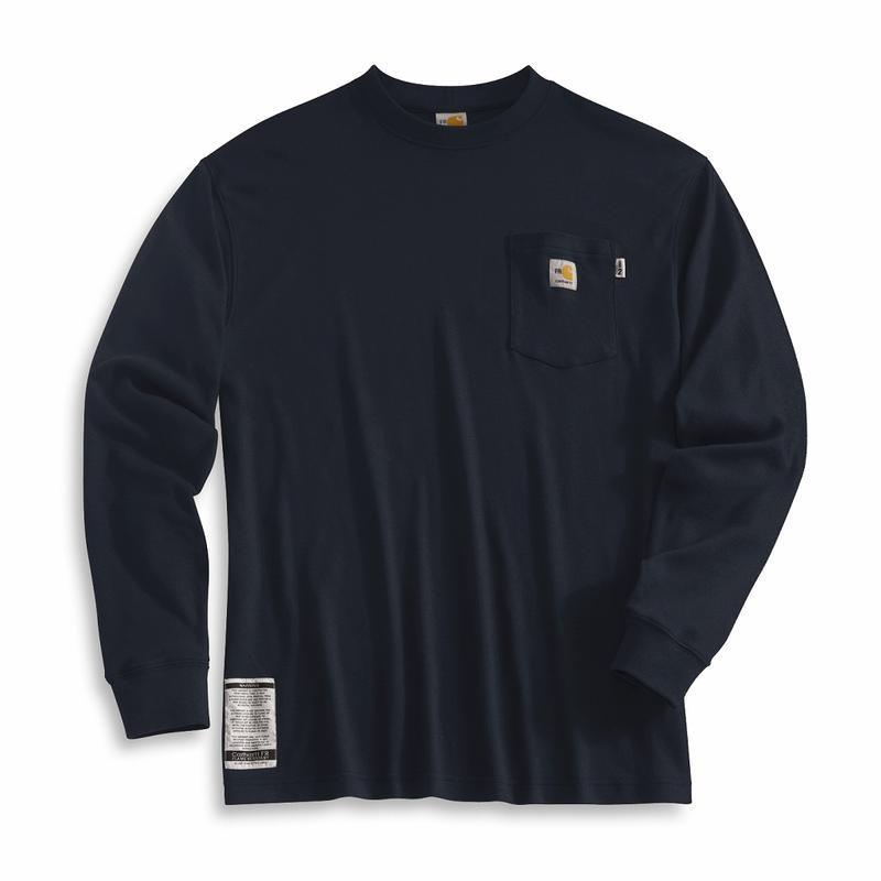 Carhartt Flame Resistant Long Sleeve T Shirt Frk294