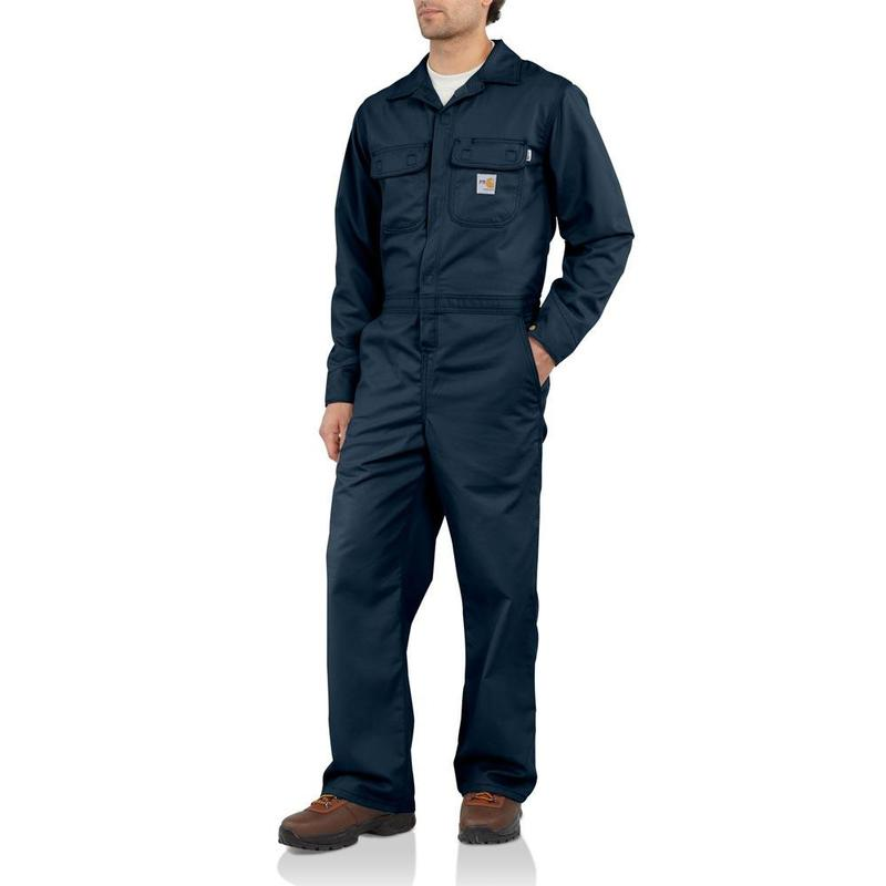 Carhartt Flame Resistant Unlined Twill Coverall Frx010