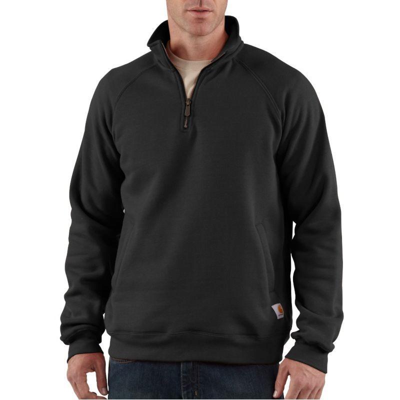 Carhartt Men's Midweight Quarter-Zip Mock-Neck Sweatshirt K503