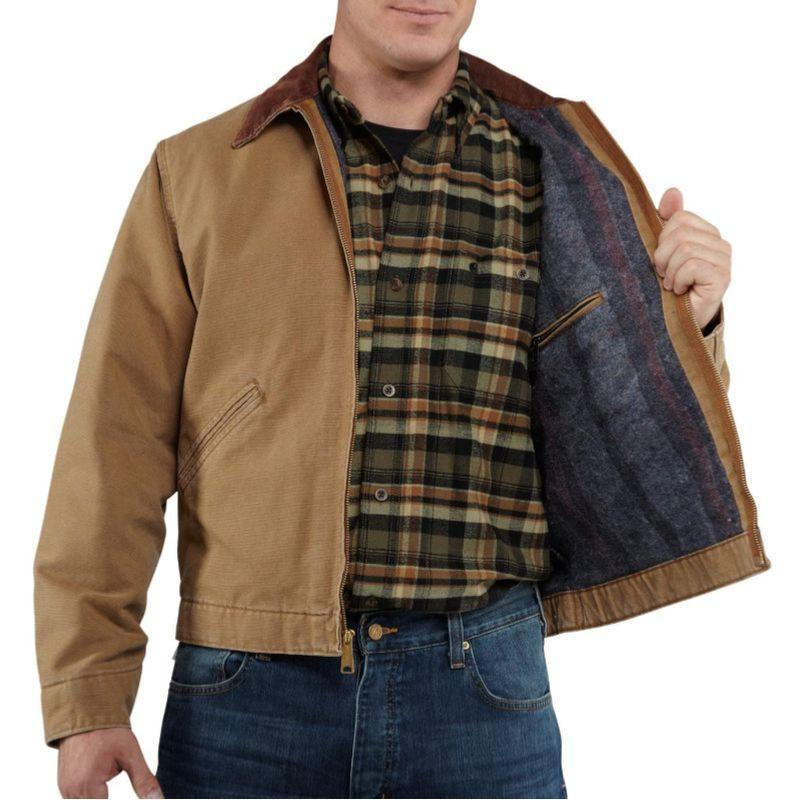 Carhartt Weathered Duck Detroit Jackets Irregular Rnj001irr