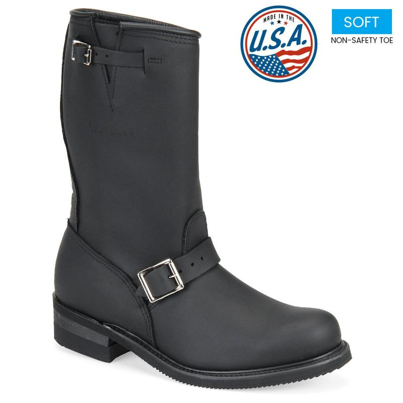 Carolina Men S Domestic 12 In Engineer Boots Made In