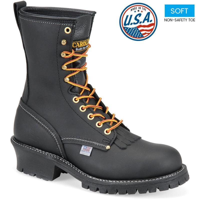 Carolina Men S 9 In Made In U S A Soft Toe Logger Boot 922