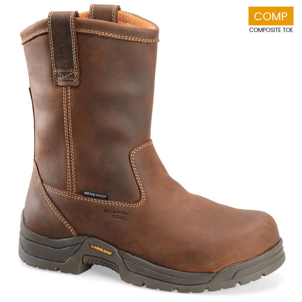 Carolina 10 In Waterproof Composite Toe Wellington Boots