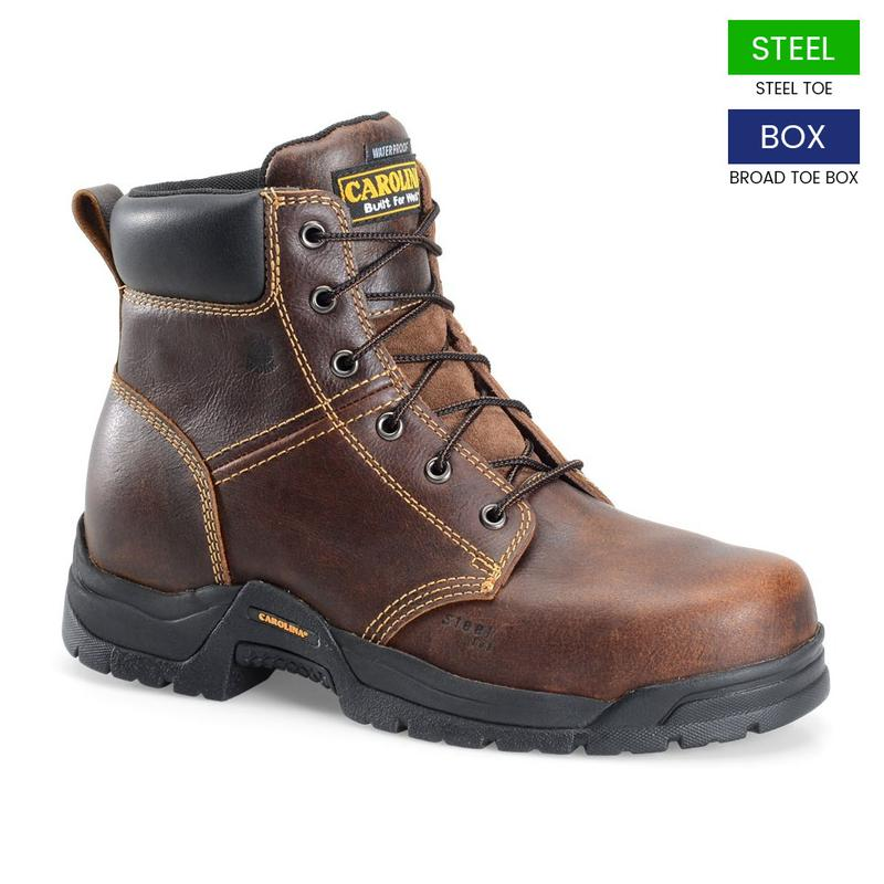 Carolina Men S 6 In Waterproof Steel Broad Toe Boots Ca2525