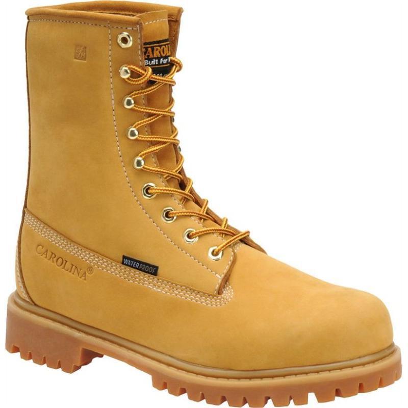 Carolina 8 In Insulated Waterproof Steel Toe Work Boots