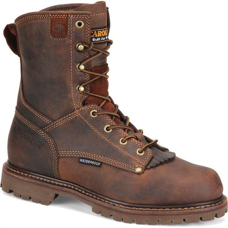 Carolina Men S 8 In Waterproof Work Boots Ca8028