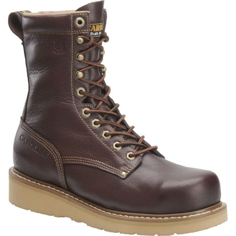 Carolina Men S 8 In Broad Toe Wedge Work Boots Ca8049