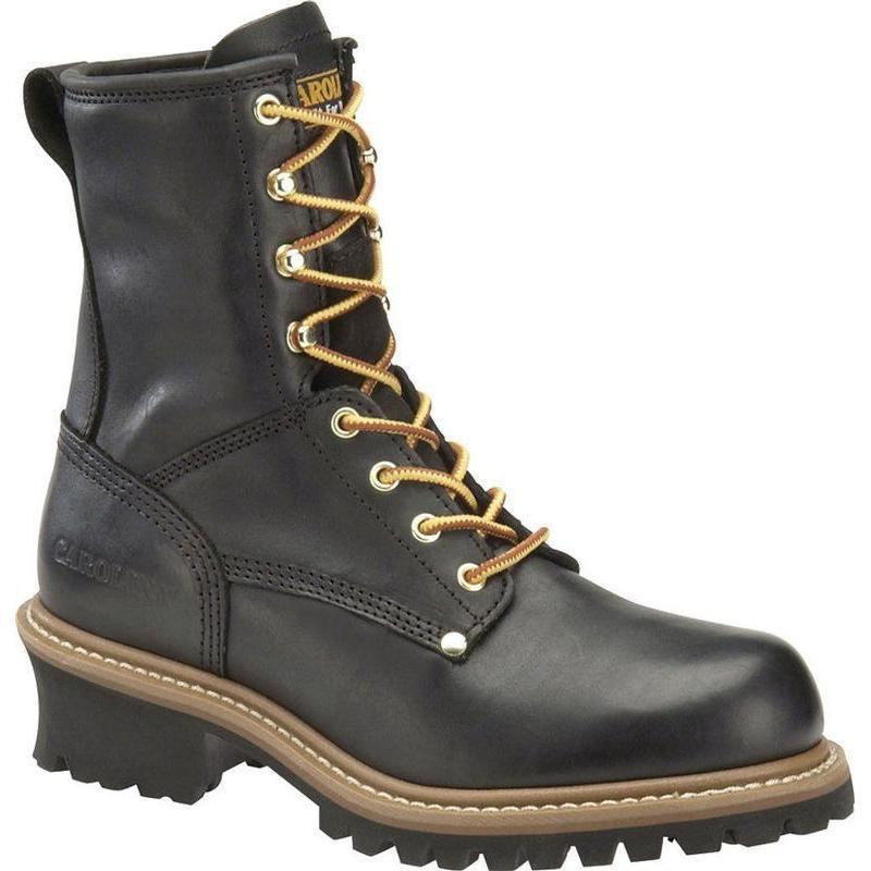 Carolina Men S 8 In Plain Toe Logger Boots Ca825