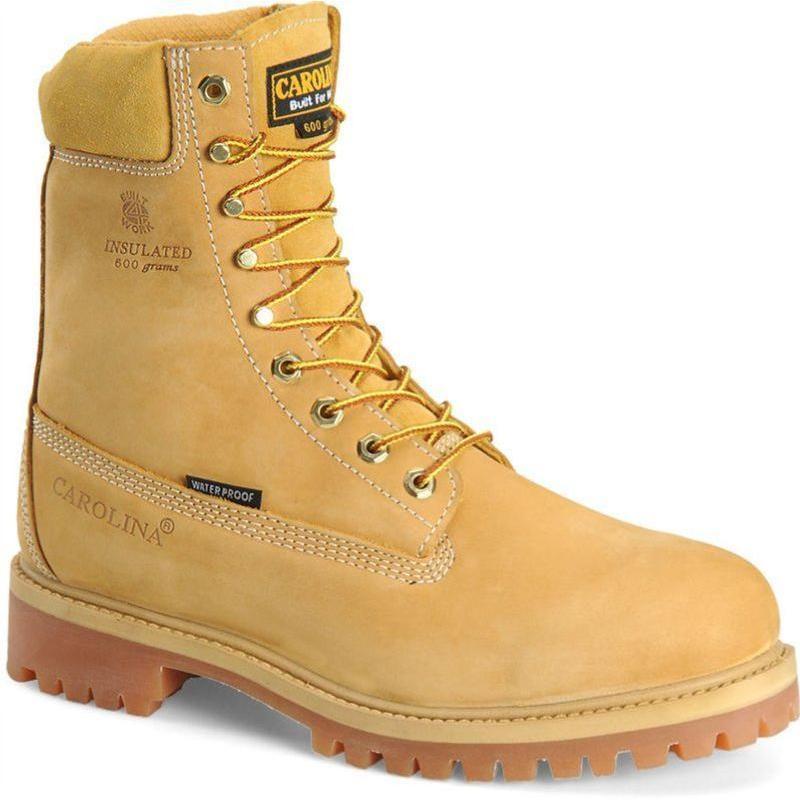 Carolina Men S 8 In Insulated Waterproof Work Boots Ca9026