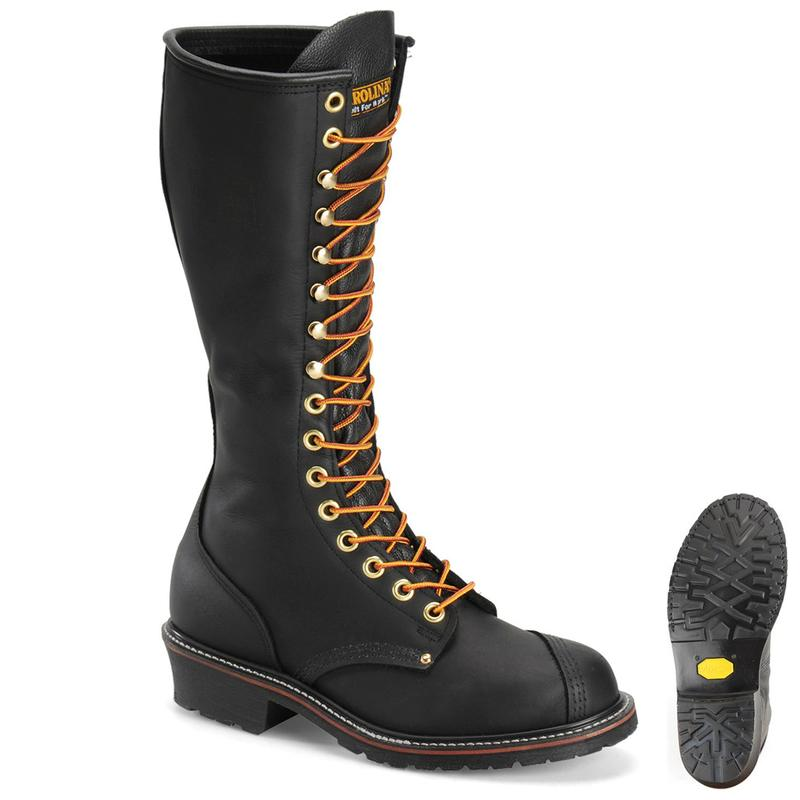 Carolina Men S 16 In Linesman Boots Made In Usa Ca924