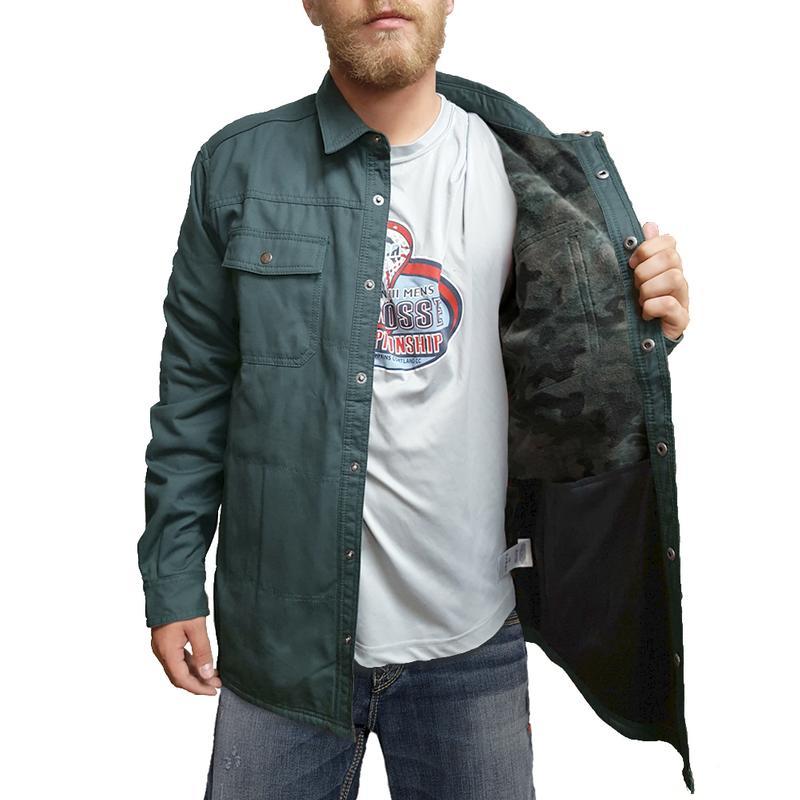 Columbia Men 39 S Log Vista Fleece Lined Shirt Jacket 1681781