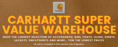 CARHARTT SUPER VALUE WAREHOUSE